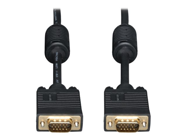 Tripp Lite 15ft SVGA / VGA Coax Monitor Cable with RGB High Resolution HD15 M/M 15' - VGA cable - 4.6 m