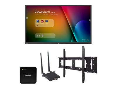 ViewSonic ViewBoard IFP9850 Chrome Bundle 1 98INCH Diagonal Class (97.5INCH viewable) LED display