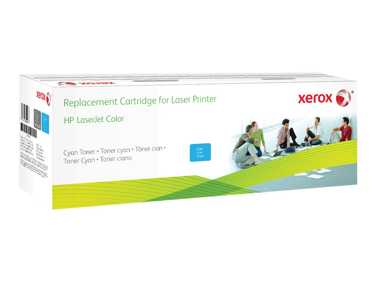 Xerox - cyan - original - toner cartridge (alternative for: HP CF321A)