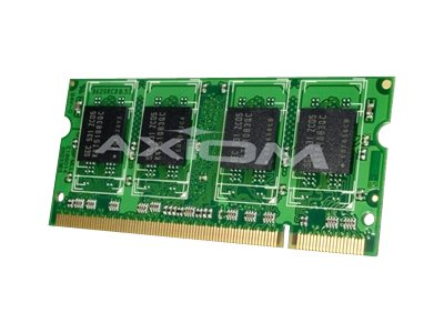 Axiom - DDR2 - 2 GB - SO-DIMM 200-pin - unbuffered - TAA Compliant