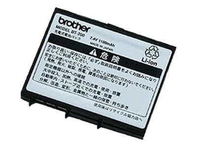 Brother BT-200 Printer battery lithium ion for m-PRINT MW-260A