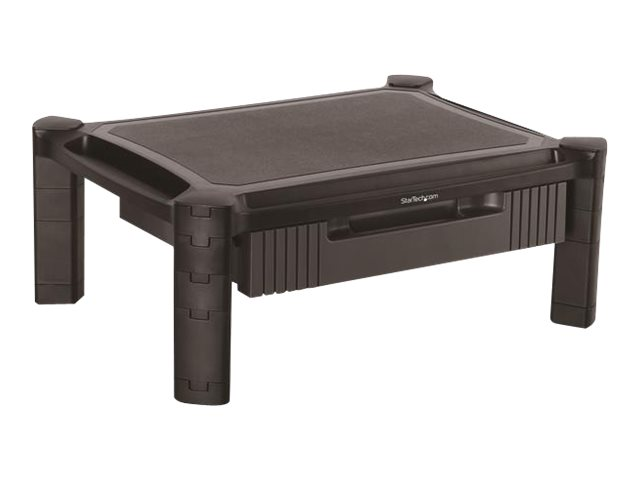 StarTech.com Adjustable Monitor Riser - Drawer - Monitors up to 32