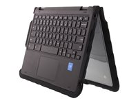 Gumdrop Drop Tech Notebook top and rear cover 11INCH black, transparent