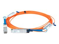 Mellanox LinkX 100Gb/s VCSEL-Based Active Optical Cables - Câble InfiniBand - QSFP pour QSFP - 10 m - fibre optique - SFF-8665/IEEE 802.3bm - actif, sans halogène