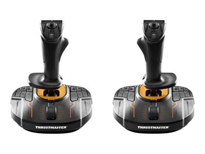ThrustMaster T.16000M FCS Space Sim Duo Orange Sort