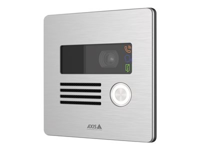 Axis I8016-LVE IP intercom station wall mount wired 10/100 Ethernet NCS S 90