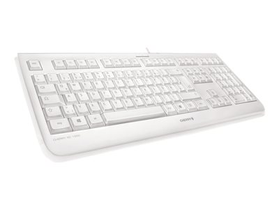 CHERRY KC 1068 - Keyboard - USB - UK layout - pale grey