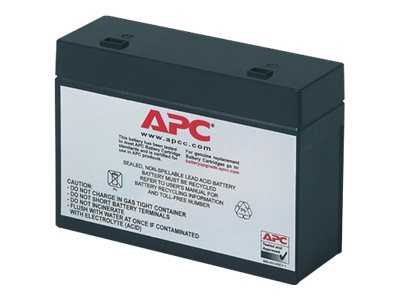 APC Replacement Battery Cartridge #10 UPS battery lead acid black