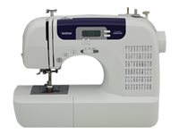 Brother CS6000i Sewing machine computerized 60 stitches 7 one-step buttonholes