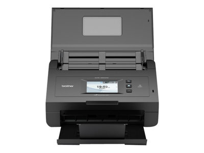 Brother ADS-2600We - Document scanner - Duplex - 216 x 863 mm - 600 dpi x 600 dpi - up to 24 ppm (mono) / up to 24 ppm (colour) - ADF (50 sheets) - USB 2.0, LAN, Wi-Fi(n), USB 2.0 (Host).*** Claim a 3 Year Warranty from January until March 2017 redeemable directly from Brother via http://www.brother.co.uk/latest-promotions ***