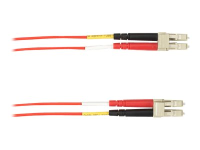 Black Box patch cable - 2 m - red