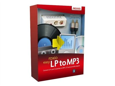 Roxio Easy LP to MP3 - box pack - 1 user - with Roxio Audio Capture USB and Complete Cable Kit