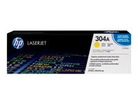 HP 304A - Yellow - original - LaserJet - toner cartridge ( CC532A ) - for Colour LaserJet CM2320fxi, CM2320n, CM2320nf, CP2025, CP2025dn, CP2025n, CP2025x