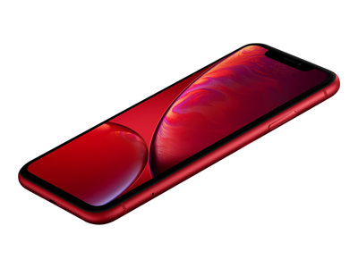 Apple iPhone XR - (PRODUCT) RED - matte red - 4G - 64 GB - CDMA / GSM - smartphone