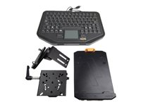 Havis Premium Package Lite Keyboard with touchpad backlit USB US