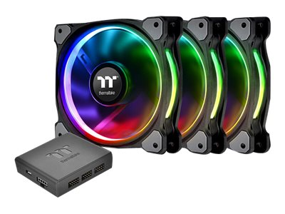 Thermaltake Riing PLUS 12 RGB Fan TT Ventilationspakke for system