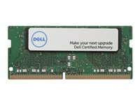 Dell - DDR4 - 4 Go - SO DIMM 260 broches - 2666 MHz / PC4-21300 - 1.2 V - mémoire sans tampon - non ECC - Mise à niveau - pour G3; G5; Inspiron 5477; Latitude 5491, 5591; OptiPlex 3060, 5060, 5260, 7060, 7460, 7760