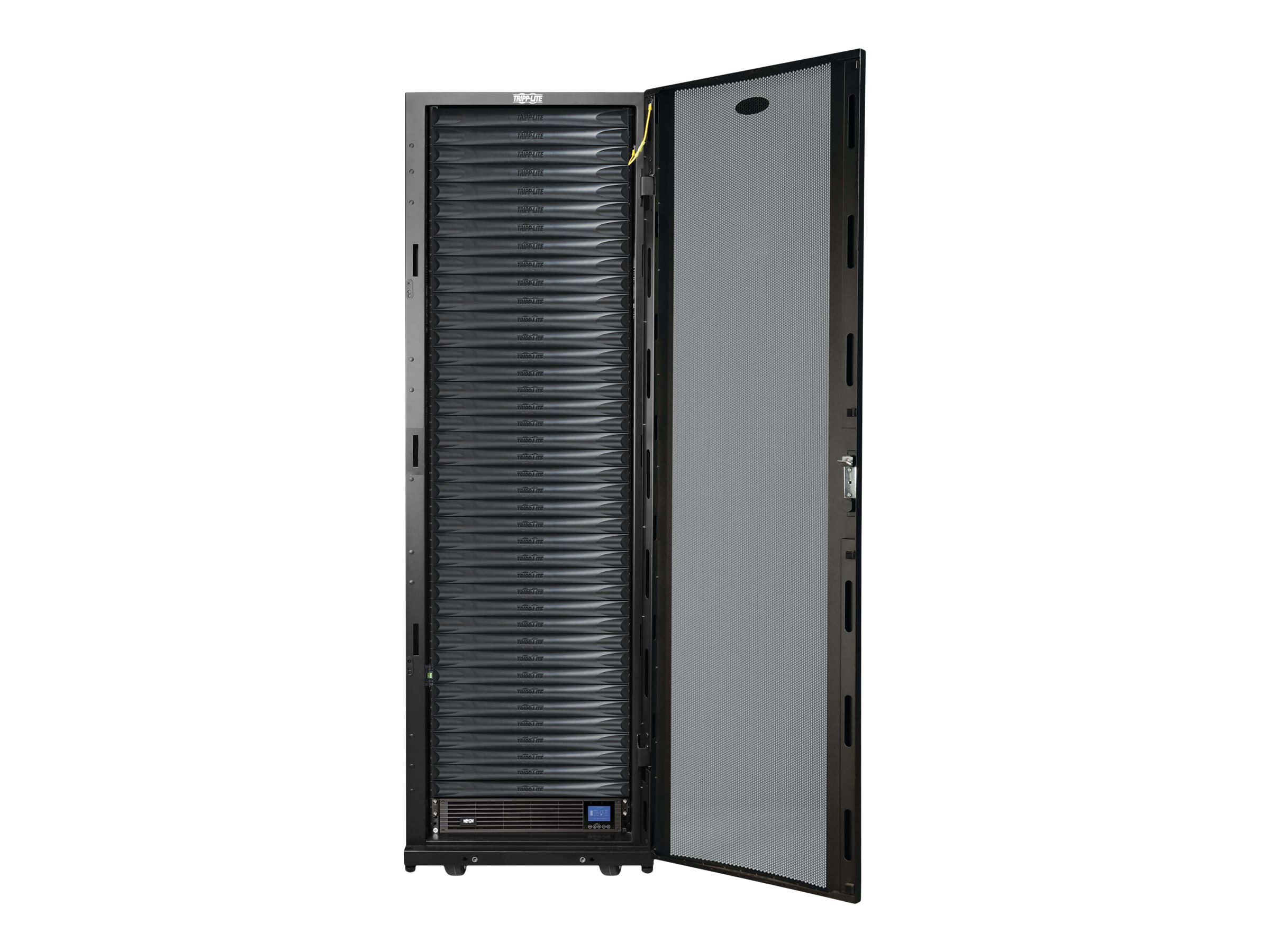 Tripp Lite EdgeReady Micro Data Center - 40U, 3 kVA UPS, Network Management and PDU, 230V Assembled/Tested Unit rack - …