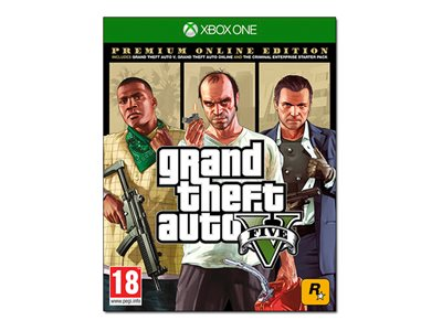 Grand Theft Auto V Premium Online Edition Xbox One
