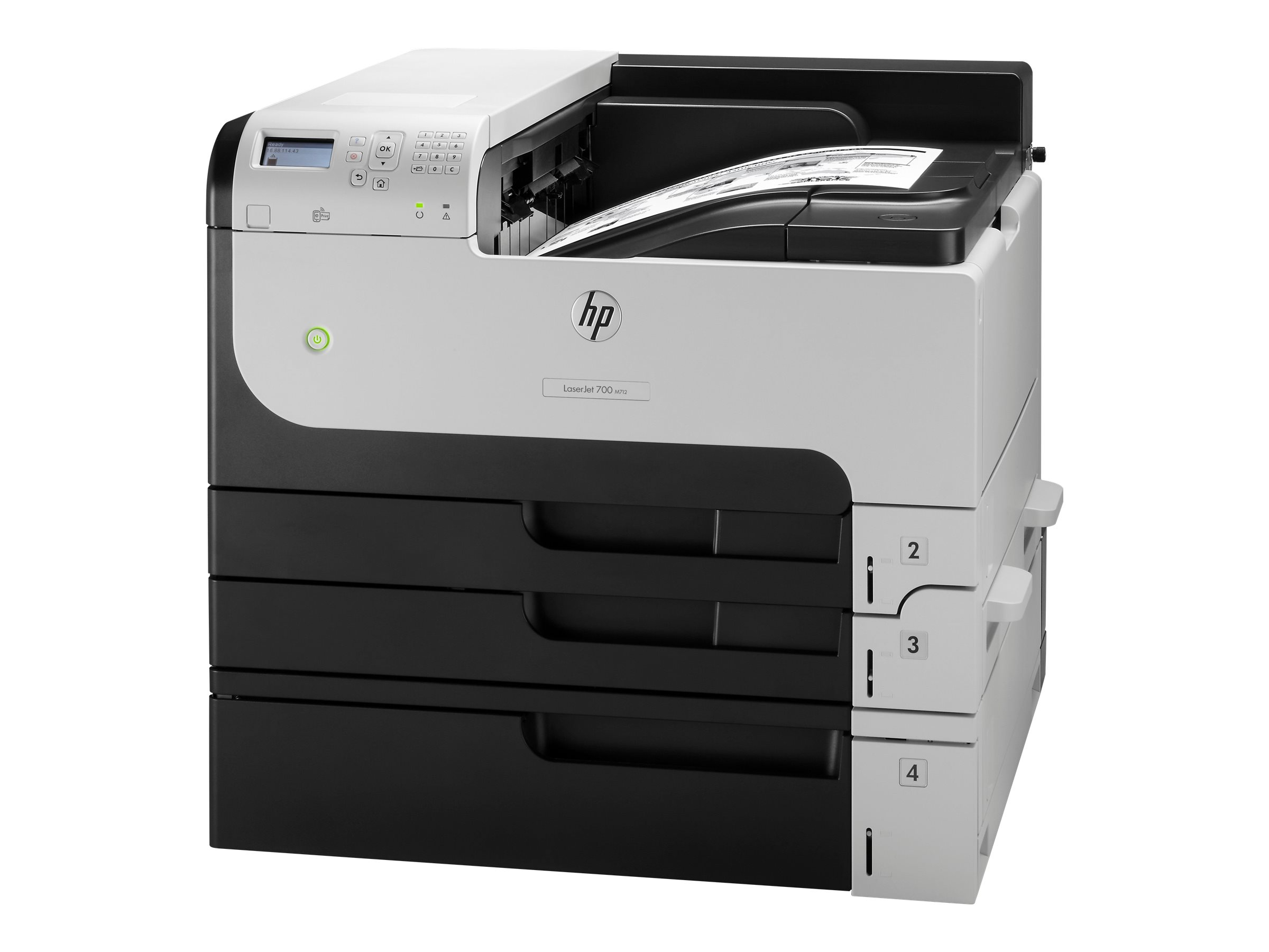 hp laserjet enterprise 700 printer m712xh imprimante. Black Bedroom Furniture Sets. Home Design Ideas