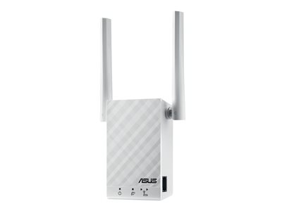 ASUS RP-AC55 Wi-Fi range extender Wi-Fi 5 2.4 GHz, 5 GHz in wall image