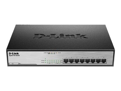D-Link DGS 1008MP Switch 8-porte Gigabit  PoE