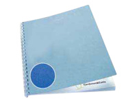 GBC LeatherGrain - A4 (210 x 297 mm) - royal blue - 250 g/m2 - 50 pcs. binding cover