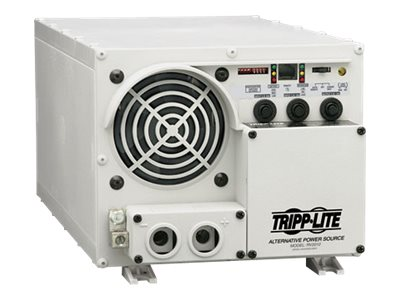 Tripp Lite 1500W RV Inverter / Charger with Hardwire Input / Output 12VDC 120VAC - DC to AC power inverter + battery ch…