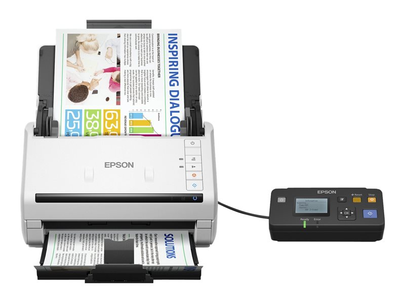 Epson WorkForce DS-530N - dokumentskanner - desktop - USB 3.0, Gigabit LAN
