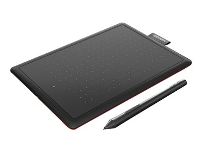 One by Wacom Small Digitizer right and left-handed 6 x 3.7 in electromagnetic wired  image