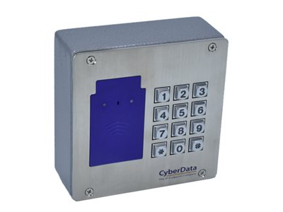CyberData RFID/Keypad Secure Access Control Endpoint Access control terminal with RFID reader