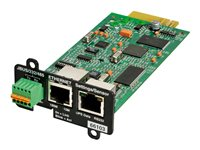 Eaton Network Card-MS - Carte de supervision distante - 100Mb LAN, RS-232 - pour Eaton PW9135G6000-XL3U; 5PX 1000, 1500, 2200, 3000, 3000 3U Rack/Tower LCD