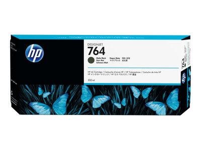 HP 764 300 ml matte black original ink cartridge for