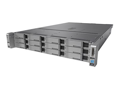 Cisco Connected Safety and Security UCS C240 M4 Server rack-mountable 2U 2-way