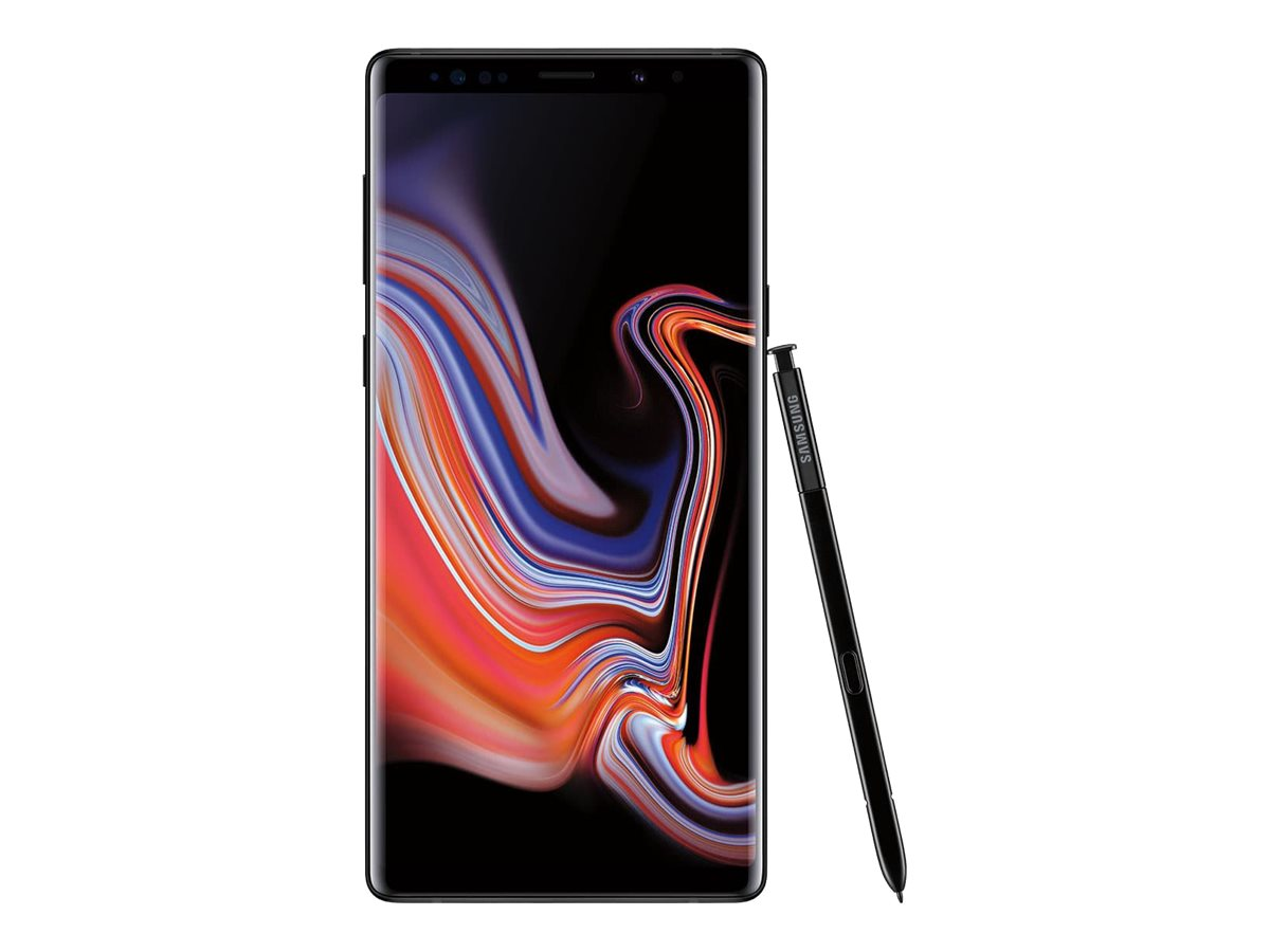 Samsung Galaxy Note9 - midnight black - 4G - 128 GB - CDMA / GSM - smartphone