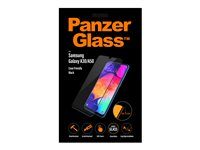 PanzerGlass Case Friendly sort, Krystalklar for Samsung Galaxy A50