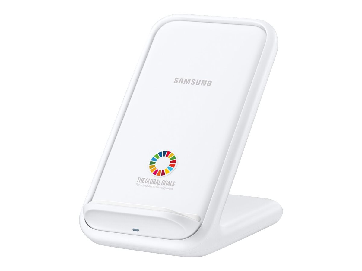 Samsung Wireless Charger Stand EP-N5200 - Global Goals Edition - wireless charging stand - + AC power adapter