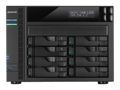 ASUSTOR AS6208T - NAS server - 0 GB