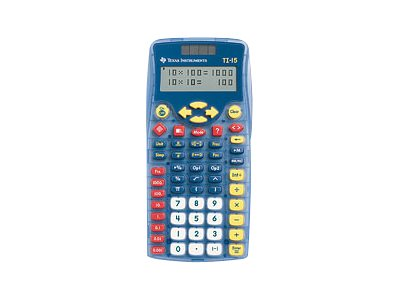 Texas Instruments TI-15 Explorer Teacher Kit Pocket calculator
