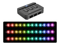 Thermaltake Lumi Color 256C RGB Light strip kit LED 256 colors black