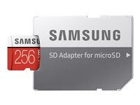 Samsung EVO Plus MB-MC256HA - Flash-Speicherkarte (microSDXC-an-SD-Adapter inbegriffen)