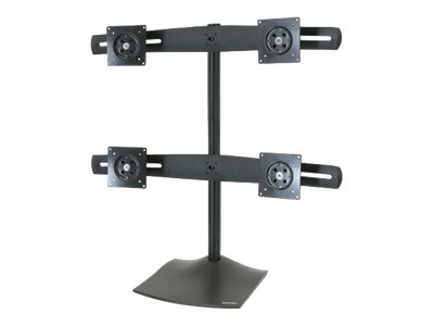 Ergotron DS100 Quad-Monitor Desk Stand - stand