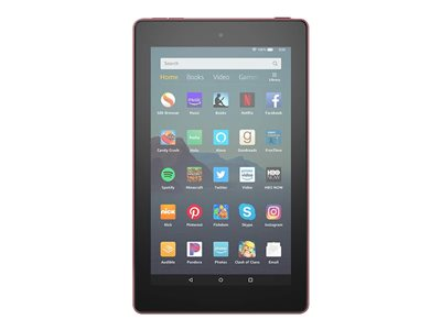 Amazon Kindle Fire 7 9th generation tablet 7INCH IPS (1024 x 600) microSD slot plum