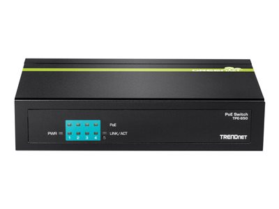TRENDnet TPE S50 Switch 5-porte 10/100  PoE