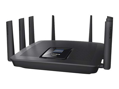 Linksys EA9500 Wireless router 8-port switch GigE 802.11a/b/g/n/ac Tri-Band