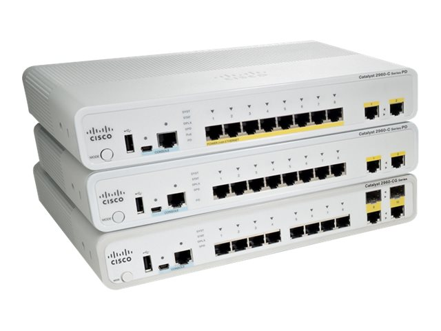 Cisco Catalyst Compact 2960CG-8TC-L - switch - 8 ports - managed