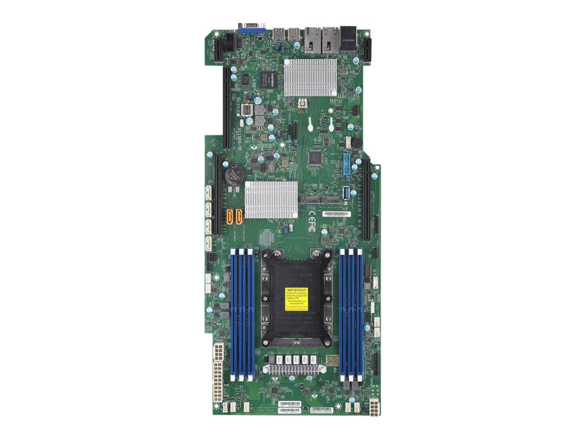 SUPERMICRO X11SPG-TF - Motherboard - Socket P - C621 - USB 3.0 - 2 x 10 Gigabit LAN