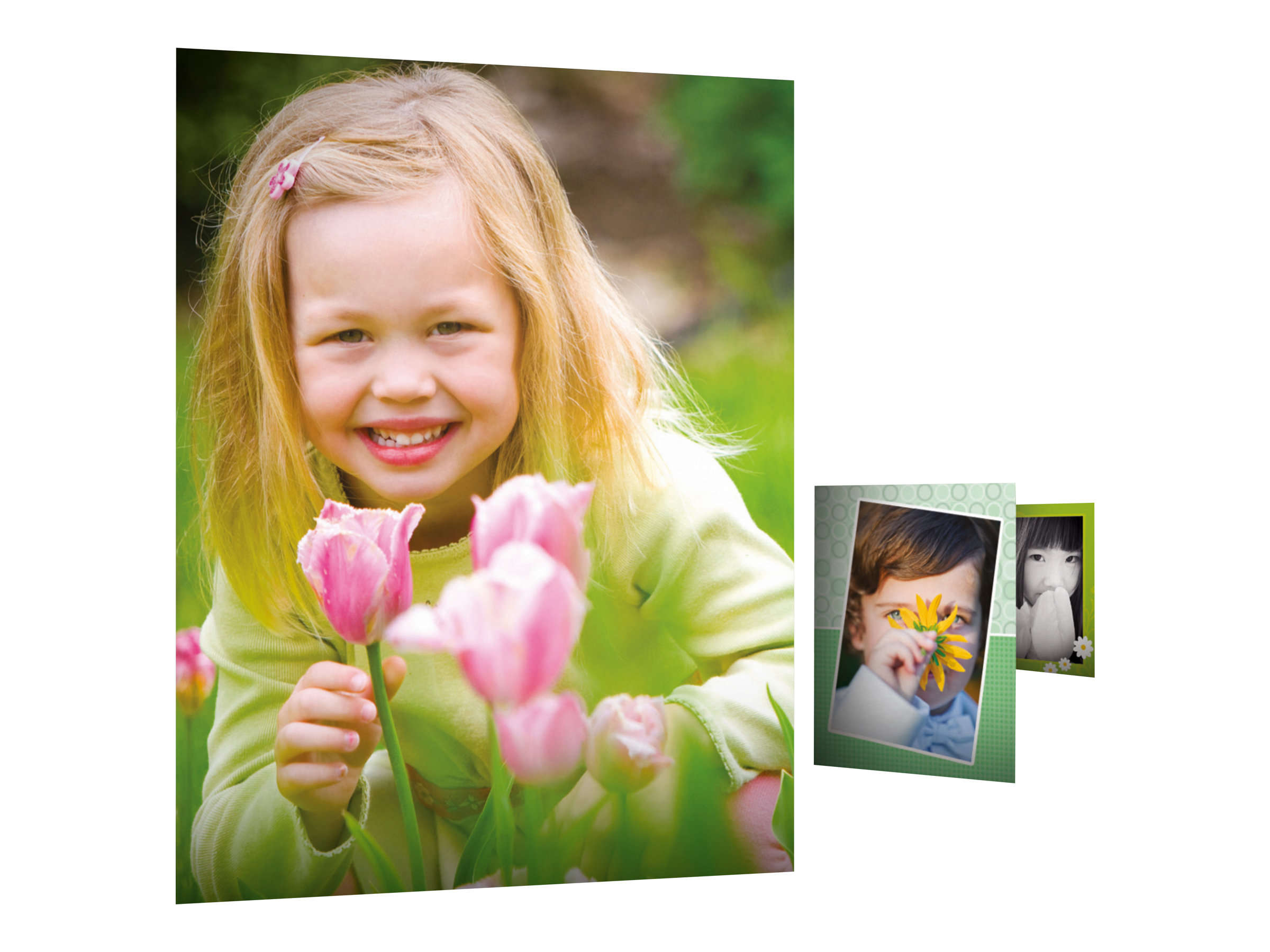 HP Everyday Photo Paper - Glänzend - A4 (210 x 297 mm) - 200 g/m² - 100 Blatt Fotopapier - für Deskjet 2050 J510; Officejet 6000 E609, 76XX; PageWide MFP 377; PageWide Pro 452