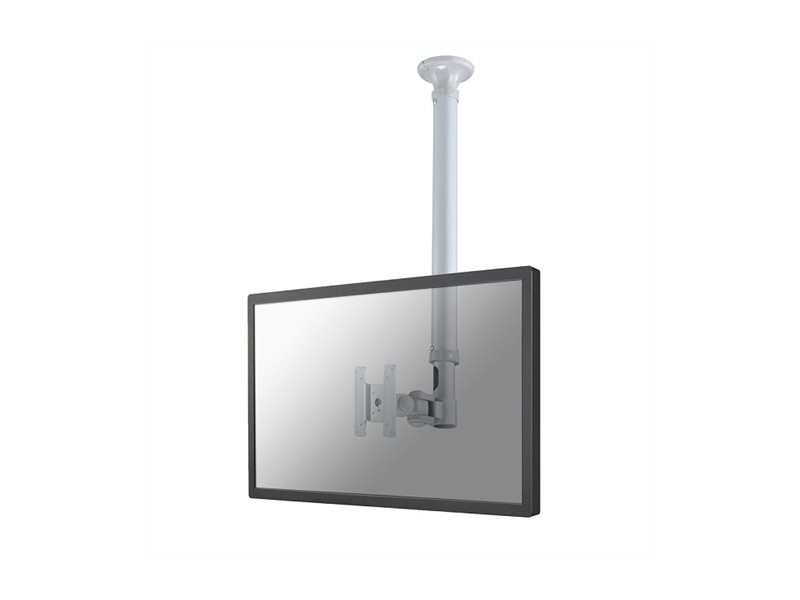 NewStar TV/Monitor Ceiling Mount FPMA-C100SILVER - montage sur plafond