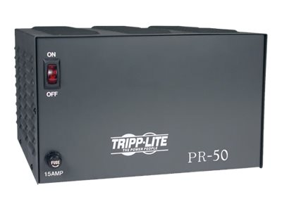 Tripp Lite DC Power Supply 50A 120VAC to 13.8VDC AC to DC Conversion TAA GSA power adapter
